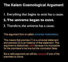 universal instantiation the logical form of the kalam  universal instantiation the logical form of the kalam cosmological argument