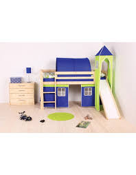 Boys Cabin Bed With Slide