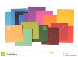 Square Colored Paper Stock Photo Image Of Colour Creativity Small Square Colored PaperL