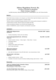Nice Arabic Linguist Resume Sample Pictures Inspiration Example