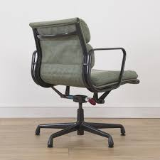 herman miller eames chair. 1 X Herman Miller Eames Fabric Soft Pad Office Chair - Custom Green N