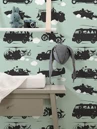 Wallpaper For Kids Vehicles Green Kek Amsterdam