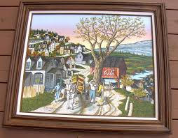 h hargrove painting country peddler 20 x 24 signed um size 1758694500