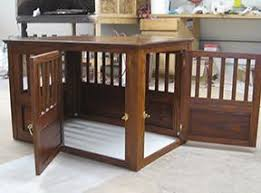 wooden crate furniture. Custom Solid Wood Dog Crates Wooden Crate Furniture D
