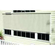 outdoor roll down shades l charcoal horizontal solar roll up shade outdoor bamboo roll up shades