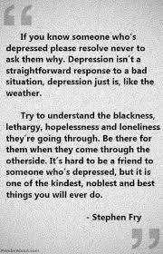 Depression (I HATE when people tell me that I don't look depressed ...