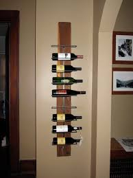 furniture tall brown wooden nice wine bottle racks on mocha wall adorable floating wine