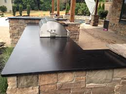 does leathered granite stain outdoor kitchen leathered granite pros and cons with design ideas
