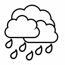 Small Picture Rain Drops Clipart Many Interesting Cliparts Coloring Page Drop