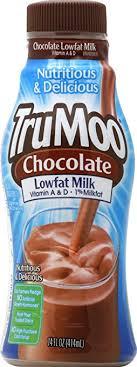 trumoo 1 low fat chocolate milk 14 oz