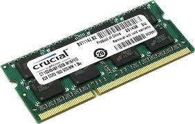 <b>Crucial</b> SO-DIMM <b>DDR3L</b> 8Gb 1600 МГц <b>модуль</b> оперативной ...