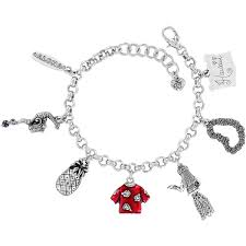 hawaii state charm bracelet in