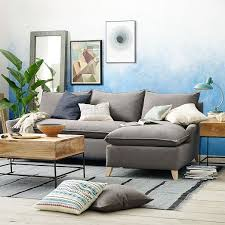 Bliss Down Filled 2 Piece Chaise Sectional | West Elm. West ElmLiving Room  IdeasFormal ...