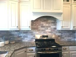 painted brick kitchen backsplash faux kitchen large size of kitchen kitchen l and stick subway tile