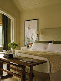 Great Table At Foot Of Bed Monogrammed Headboard Simple Yet