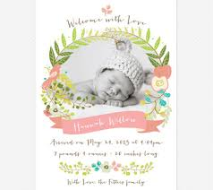 newborn baby announcement sample online birth announcement template pregnancy announcement oh my
