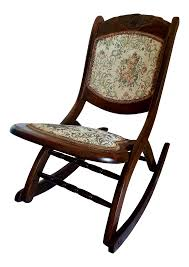 alluring antique wooden rocking chair identification of antique folding rocking chair