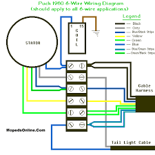 mopeds online com 1977 puch maxi sport complete moped wiring diagram be used for other models as well thanks to daniel herron