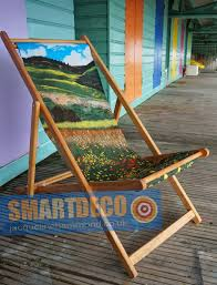 smart deco furniture. Deckchair - Traditional Seaside Santa Fe Fields Smart Deco Homeware Lighting And Art By Jacqueline Furniture