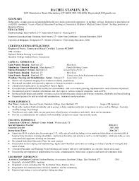 Student Nurse Resume Fascinating Rn Resume Multiple Settings