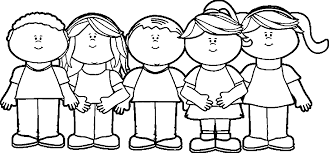 Coloring Page : Wonderful Child Coloring Page Children Happy Kids ...