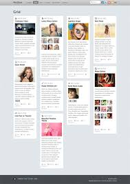 Postline A Theme Inspired By Facebooks Timeline Themify