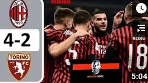 Coppa Italia: Milan - Torino 4-2, il servizio filmato ...