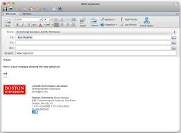 Free Email Signature Templates For Outlook Template Email