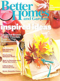 Better Homes And Gardens Decorating Home Decor Magazines