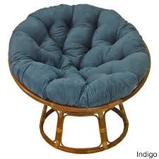 Blazing Needles 44-inch Microsuede Papasan Cushion - Free Shipping Today -  Overstock.com - 15668641