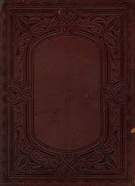 antique book cover frame free png image