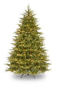 5.5ft Pre-lit Nordic Spruce Feel-Real Artificial Christmas Tree