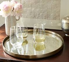 round mirrored coffee table tray designs