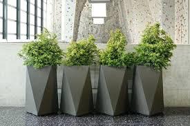 tall outdoor planters diy fresh ideas home modern