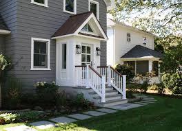 Slomin Residence Vestibule Addition transitional-exterior