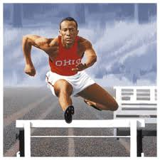 artwork trailblazers and trendsetters art of the stamp jesse owens