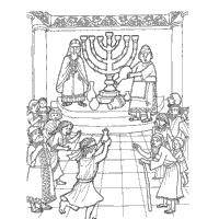 Hanukkah Coloring Pages Hanukkah Fun