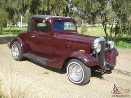 Chevrolet Coupe Delux HOT ROD Chev 350 Very Rare Vehicle Minor ...
