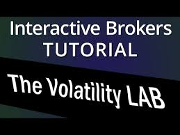 Interactive Brokers Implied Volatility Chart The Volatility Lab In Interactive Brokers