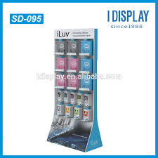 Cell Phone Accessories Display Stand Cell Phone Case Display Rack Cardboard Hanging Display Racks 2