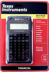 Financial Calculator Ti Ba Ii Plus Professional Financial Calculator
