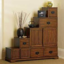 Image Dining Table Reversible Japanesestyle Furniture Tansu Wooden Step Chest Wstorage Drawers Rubbed Walnut Amazonca Home Kitchen Amazonca Reversible Japanesestyle Furniture Tansu Wooden Step Chest