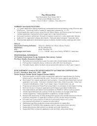 Entry Level Quality Assurance Resume Samples Entry Level Qa Analyst Resume Sample Danayaus 12