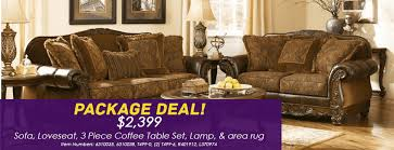 ashley fresco durablend antique collection package deal 2 399