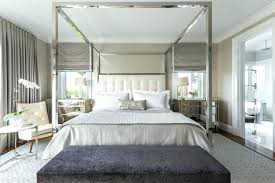 Mirrored Canopy Bed Mirrored Canopy Bed Mirrored Canopy Bed Chrome ...