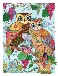 Creative Haven Owls Coloring Book By Marjorie Sarnat Sweeter Than