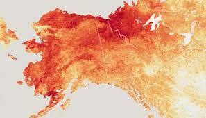 Alaska Annual Weather Chart Record Breaking Heat In Alaska Wreaks Havoc On Communities