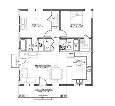 Craftsman Style House Plan   2 Beds 2 Baths 930 Sq/Ft Plan #485