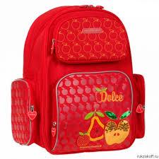 <b>Рюкзак школьный Dr</b>. Kong (Доктор Конг) Z148, красный купить по ...