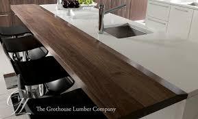walnut dark wood countertops designed by john troxell